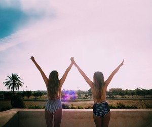 girl, summer, and inspiration image
