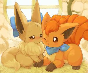 eevee, pokemon, and vulpix image