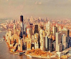 city, new york, and manhattan image