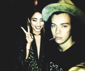 vanessa hudgens and Harry Styles image