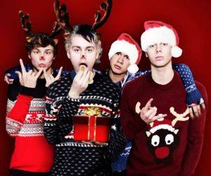 5sos, 5 seconds of summer, and christmas image