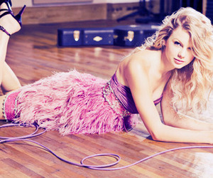 Taylor Swift, pink, and dress image