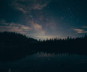 sky, night, and stars image