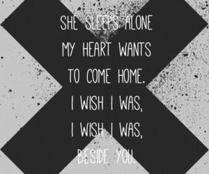 5sos, beside you, and Lyrics image
