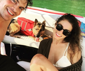 actor, couple, and dog image