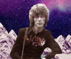 bowie, art, and Collage image