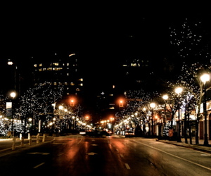 canada, christmas, and downtown image