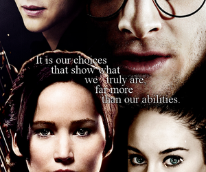 divergent and harry potter image