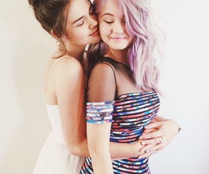 maia mitchell, debby ryan, and lesbian image