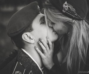 soldier and love image