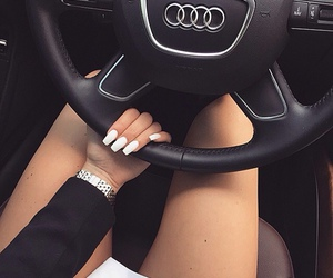car, nails, and audi image