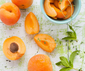 fruit, food, and apricot image