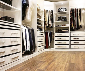 closet and fashion image