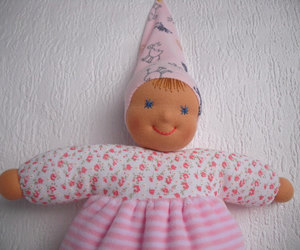 baby shower gift, toddler doll, and waldorf baby doll image