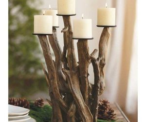 candle, decorated, and diy image