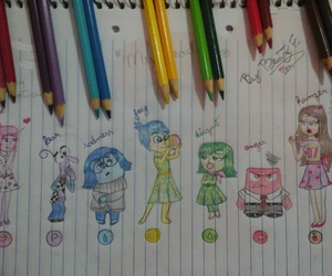 *-*, fear, and inside out image