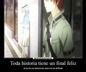anime, angel beats, and frases image