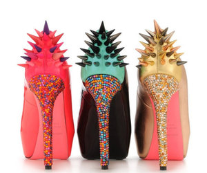 shoes, heels, and spikes image