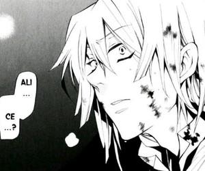 pandora hearts, break, and manga image