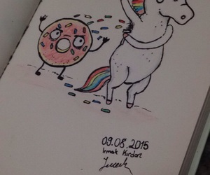 color, donut, and draw image