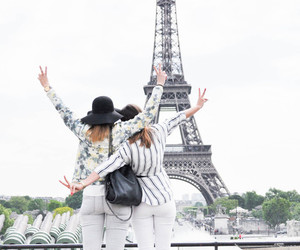 paris, fashion, and friends image