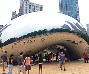 bean, chicago, and cloud image