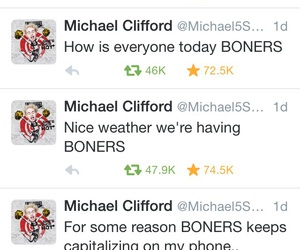 michael, mikey, and tweet image