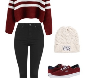 outfit, outfits, and sweaters image