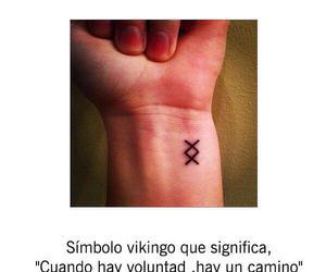 tattoo, vikingos, and camino image