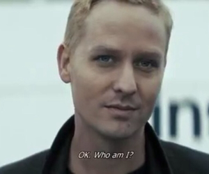 actor, blond, and blue eyes image