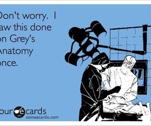 grey's anatomy and funny image