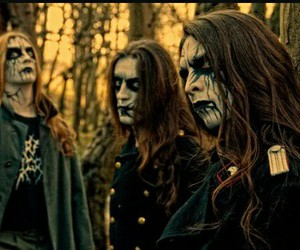 Black Metal, forest, and carach angren image