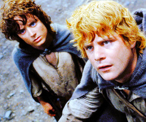 frodo, Sam, and lord of the rings image