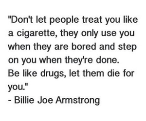armstrong, greenday, and quote image