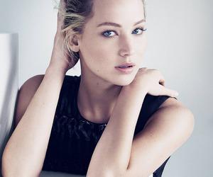 Jennifer Lawrence, dior, and model image