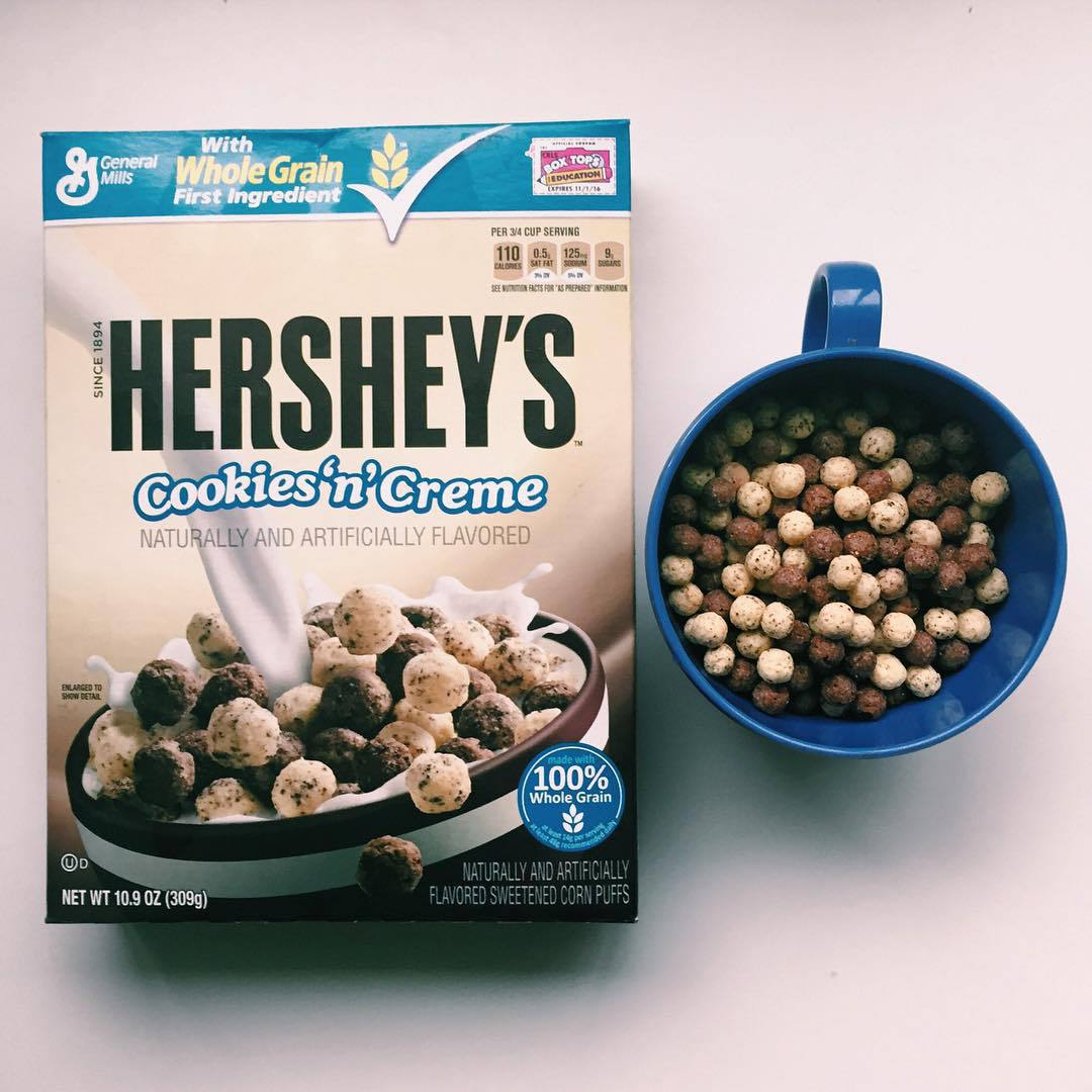 breakfast, cereal, and hershey's image