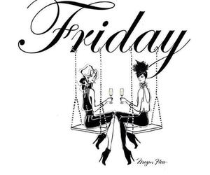 friday, fashion, and friendship image