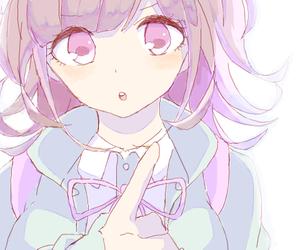 anime, anime girl, and stare image