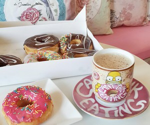 dessert, food, and donuts image