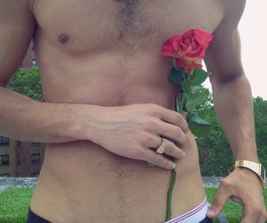 abs, Hot, and guy image
