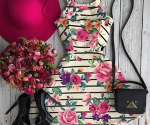 dress and hat image