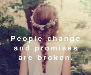 change, promise, and broken image