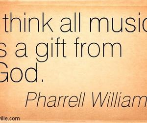 gift, music, and Pharrell Williams image