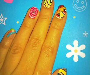 nail art, power puff girls, and ppg image