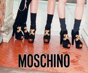 editorial, fashion, and Moschino image