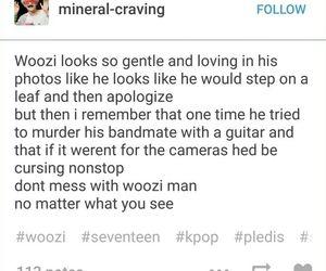 woozi, Seventeen, and jihoon image