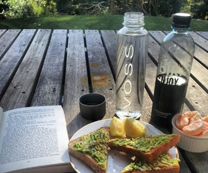 food, book, and healthy image
