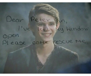 I Love You, once upon a time, and peter pan image