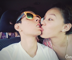 couple, ​amor, and kiss image