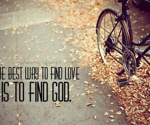 god, love, and way image